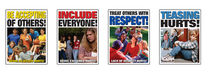 High School Anti Bullying Posters