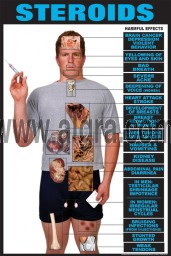 Effects of Steroids Poster