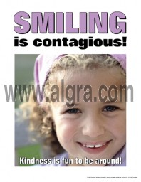 Smiling is Contagious Poster