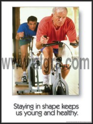 Staying in Shape Poster