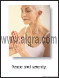 Peace & Serenity Poster