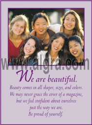 We are Beautiful Poster