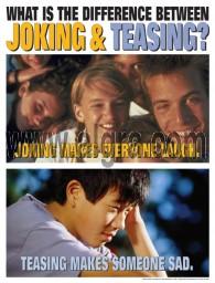 Joking & Teasing Poster