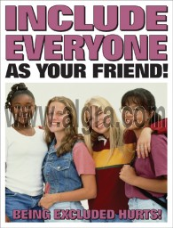 Jr. High Include Everyone as Your Friend Poster