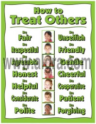 How to Treat Others Poster