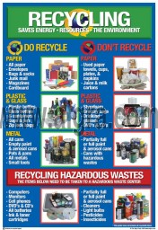 Bilingual Recycle Poster