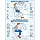 "Correct Posture Poster 18"" X 24"" Poster"