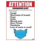employee symptoms corona