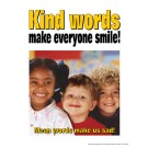Kind Words Make Everyone Smile Poster