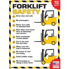 Forklift Safety Rules Poster