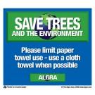 Paper Towel Placard
