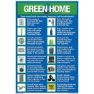 Green Home Poster 8.5 x 12 English on one side and Spanish on the other