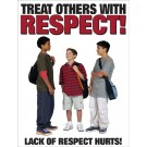 Treat others with Respect! Poster