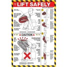 How to lift Safely 24 x 36 Poster