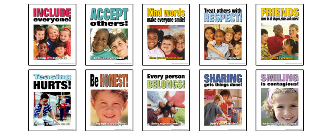 Elementary Anti Bullying Posters