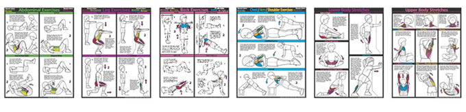 Kids Fitness Posters