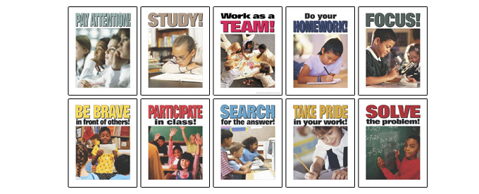 Learning Skills Posters