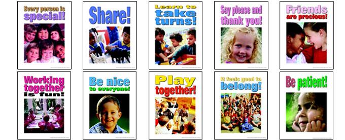 Preschool Anti Bullying Posters
