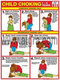 Child Choking Poster