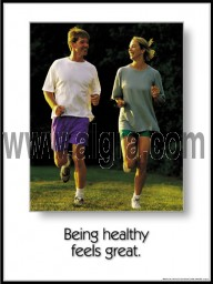 Be Healthy Poster