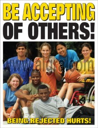 Be Accepting of Others Poster