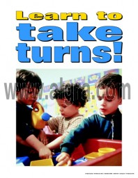 Learn to Take Turns Poster