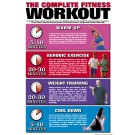 The Complete Fitness Workout Poster