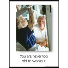 Workout at Any Age Poster