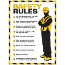 Workplace Safety Rules Poster